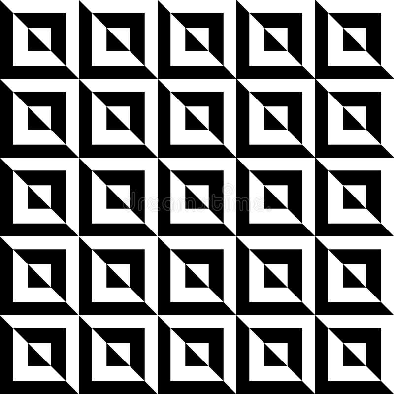 La texture de marbre Contrasty aiment les tuiles sans couture illustration libre de droits