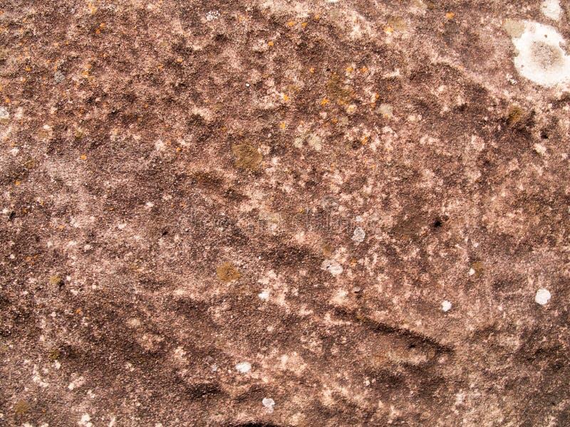 La texture de la pierre utilisée pour les fonds d'image, surface de couleur brune en pierre image stock