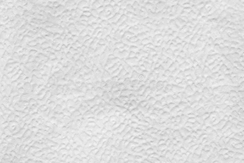 la texture de la surface de soulagement de la serviette de papier, se ferment vers le haut du fond abstrait photographie stock libre de droits