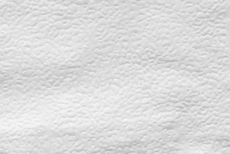 la texture de la surface de soulagement de la serviette de papier, se ferment vers le haut du fond abstrait photo stock