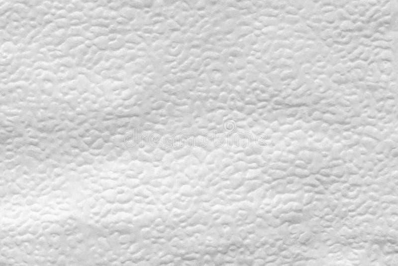 la texture de la surface de soulagement de la serviette de papier, se ferment vers le haut du fond abstrait image libre de droits
