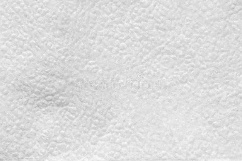 la texture de la surface de soulagement de la serviette de papier, se ferment vers le haut du fond abstrait photographie stock