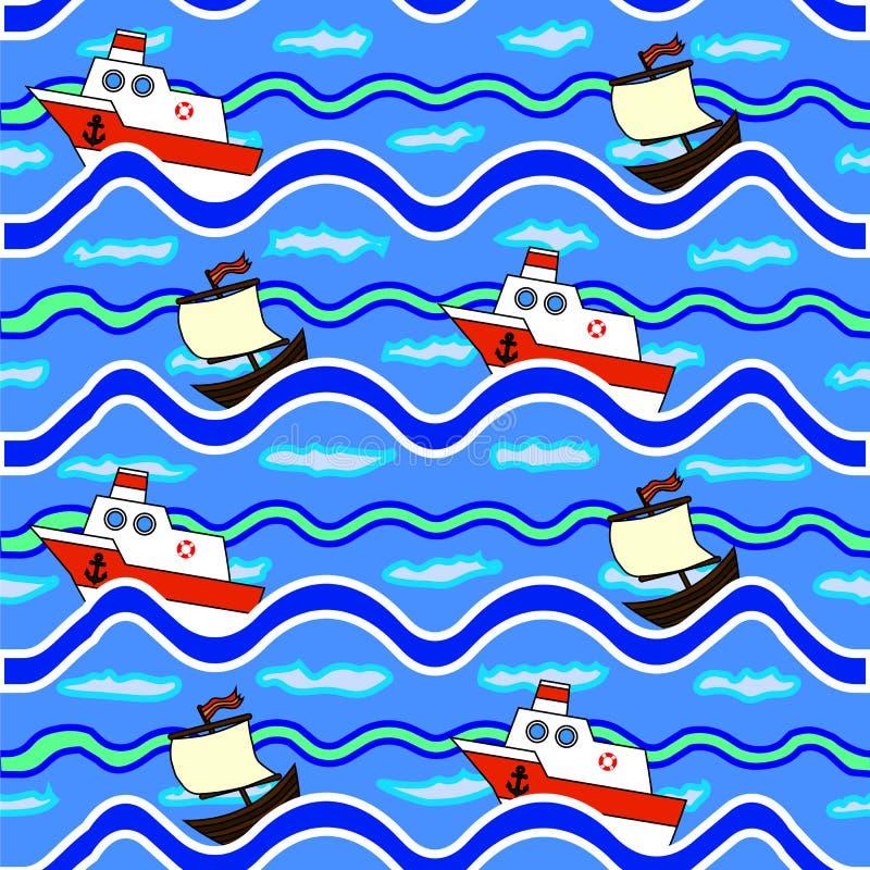 La texture des bateaux de flottement de mer photographie stock