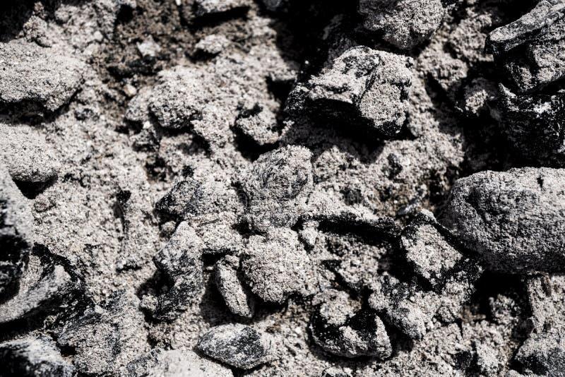 La texture des cendres images libres de droits