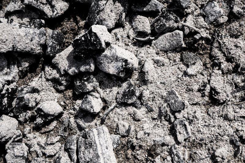 La texture des cendres photos stock