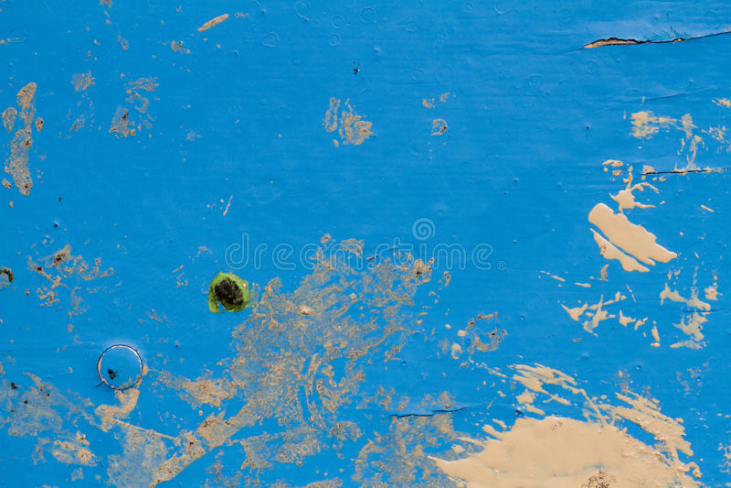 La texture du bleu a peint le bois dans la définition élevée photos stock