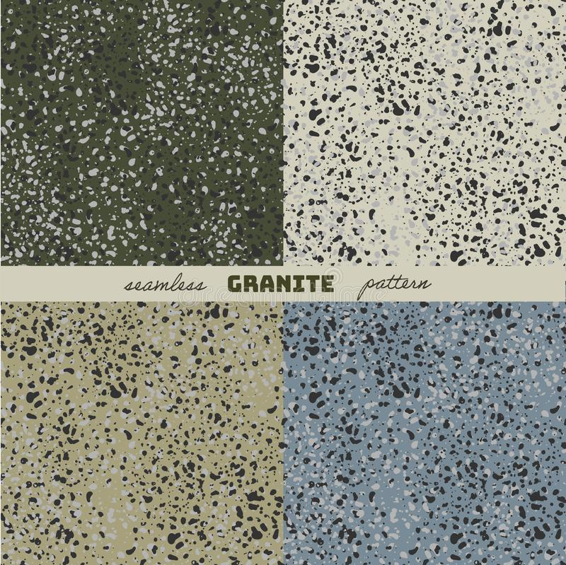 La texture du granit illustration de vecteur