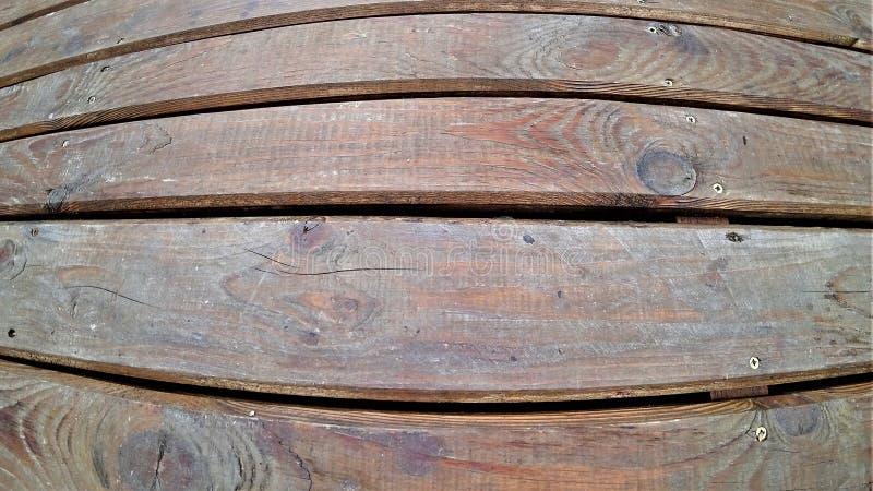 La texture du plancher en bois des conseils photographie stock libre de droits
