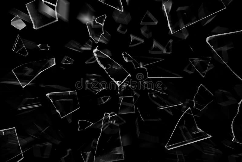 La texture du verre cassant photo libre de droits