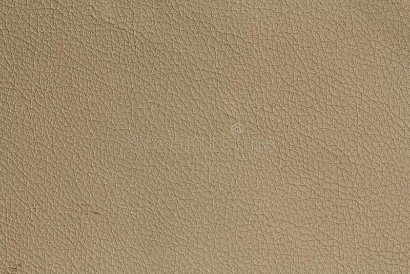La texture en cuir brun clair soit employée comme fond photo libre de droits