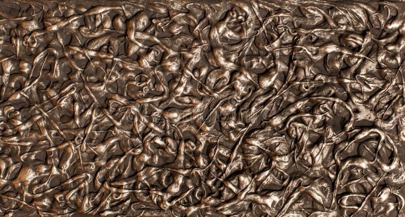 La texture lumineuse et colorée de la surface du plâtre dans le style d'un grenier, peut être employée comme fond matériel nature image stock