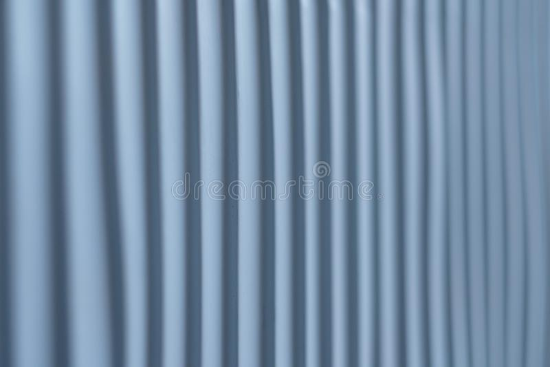 La texture nervurée a barré le fond en acier de mur de couleur image libre de droits