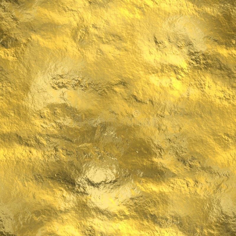 La texture sans couture d'or, soustraient modelé illustration de vecteur