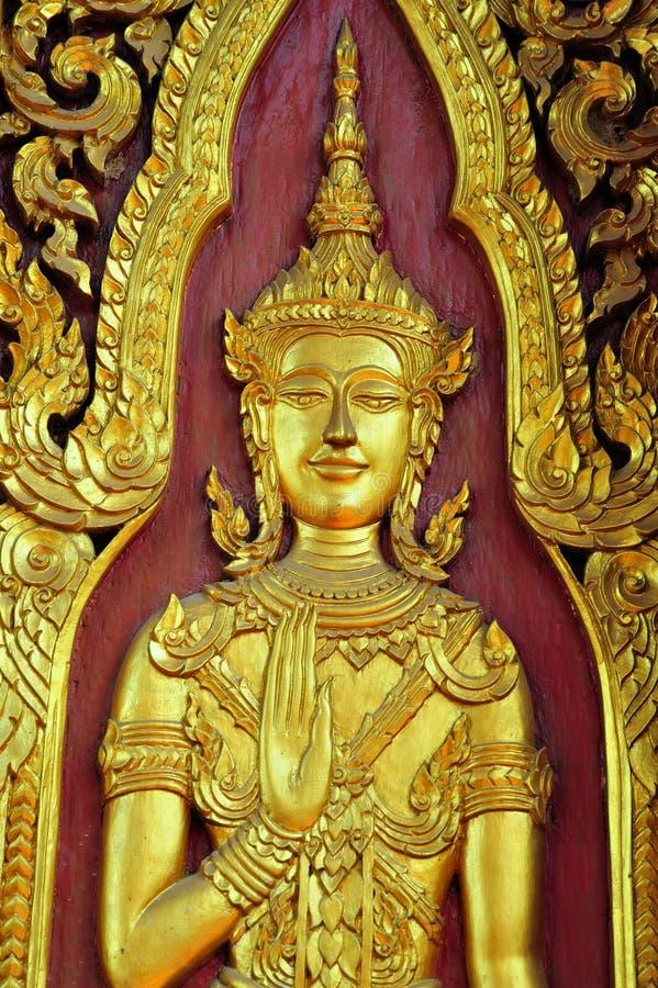 La Thaïlande Ayutthaya Wat Yai Chai Mongkhon photos libres de droits