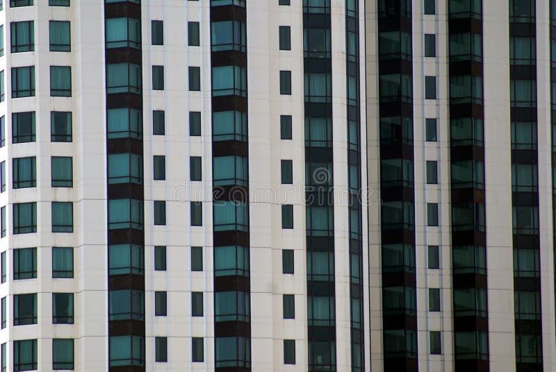 La Thaïlande, Bangkok, Asie, détails des palais de secteur de bureau soustraient le réflexe moderne de gratte-ciel de terrasse d' photographie stock libre de droits