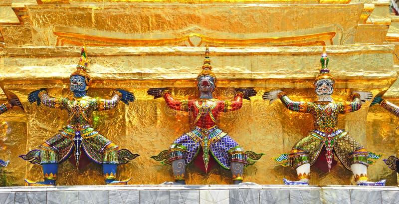 La Thaïlande Bangkok Wat Phra Kaew photos stock