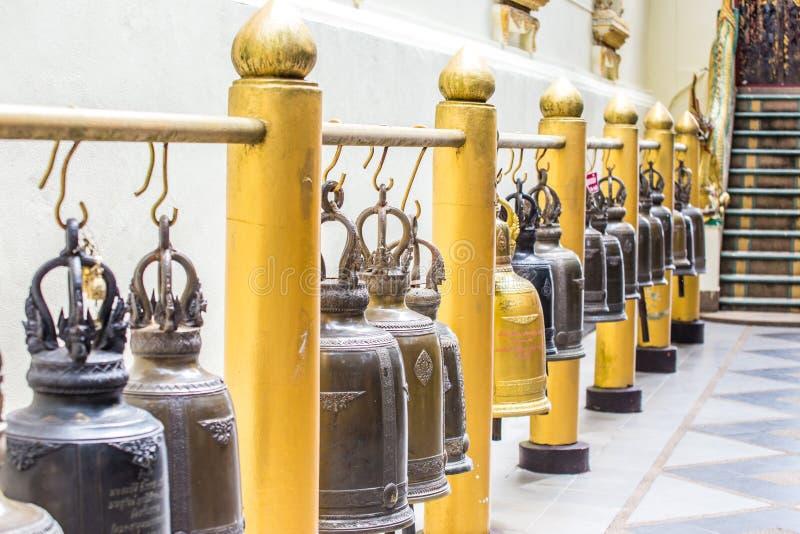 La Thaïlande, Chiang Mai, temple de Prathat Doi Suthep (Wat Prathat Doi images stock