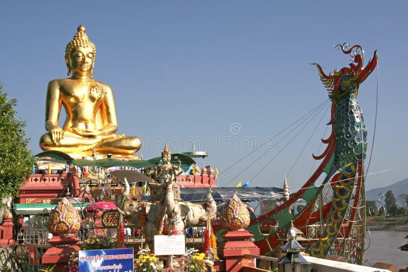 La Thaïlande, concession Ruak, Bouddha photographie stock