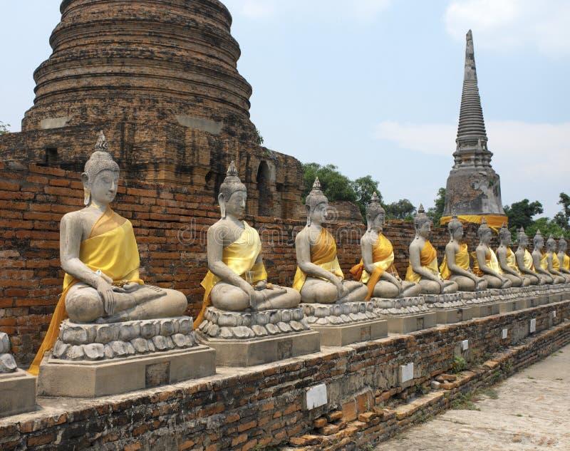 La Thaïlande - l'Ayutthaya photo libre de droits