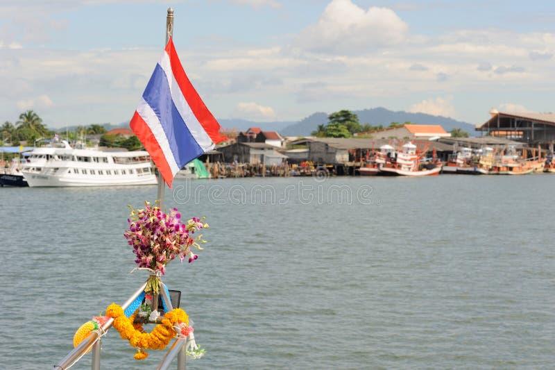 La Thaïlande. Mer d'Andaman. Bateau de plongée d'îles de Similan photo libre de droits