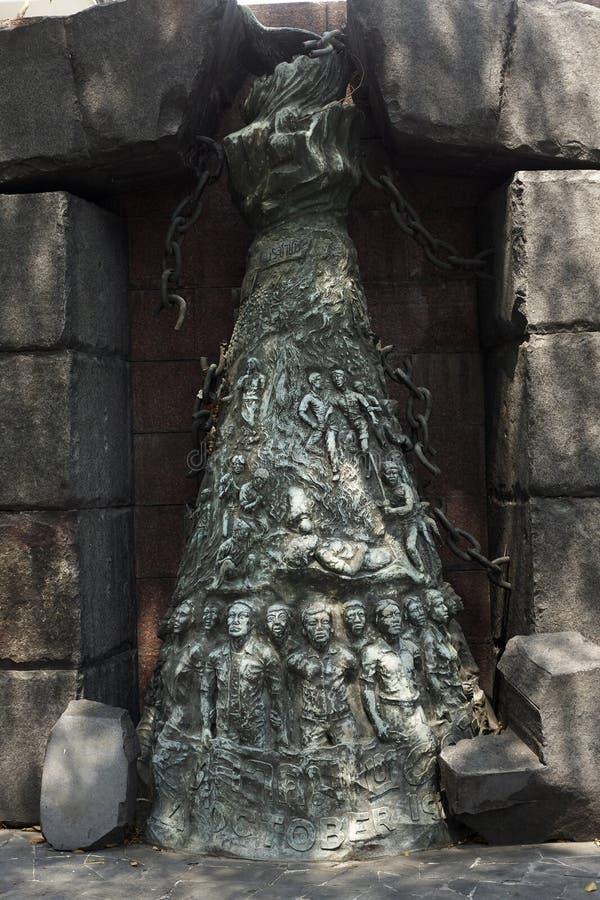 La Tha?lande, Bangkok M?morial ? l'universit? de Thammassat photo libre de droits