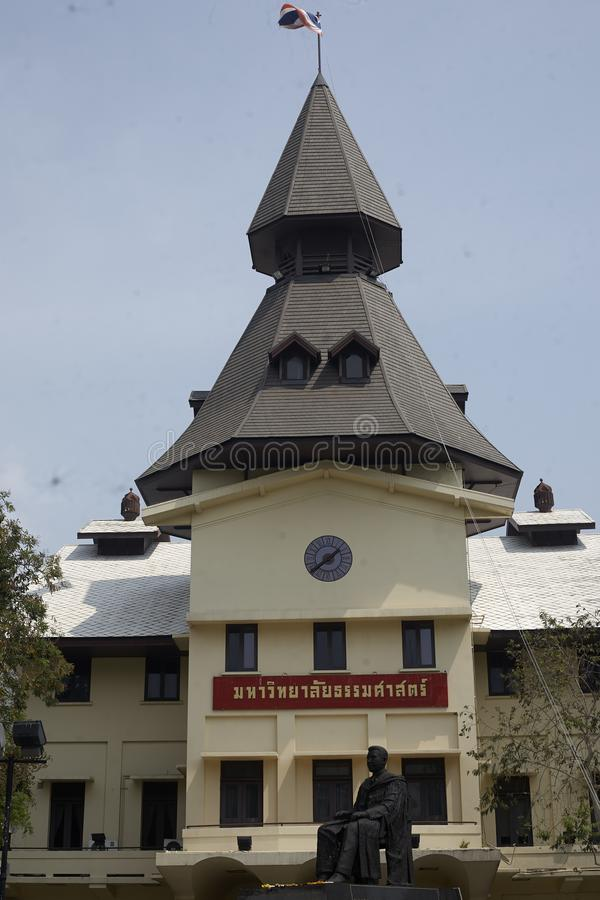 La Tha?lande, Bangkok Universit? de Thammassat photos libres de droits