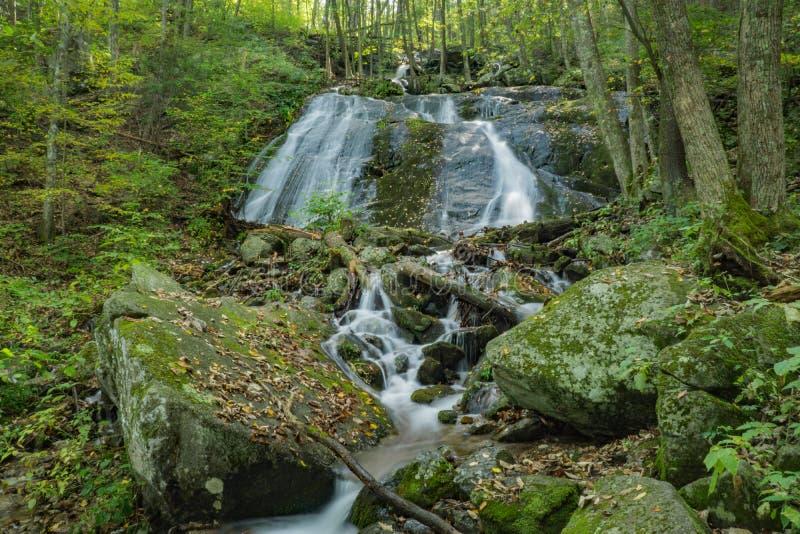 La tienda india cae en Ridge Mountains azul de Virginia, los E.E.U.U. imagenes de archivo