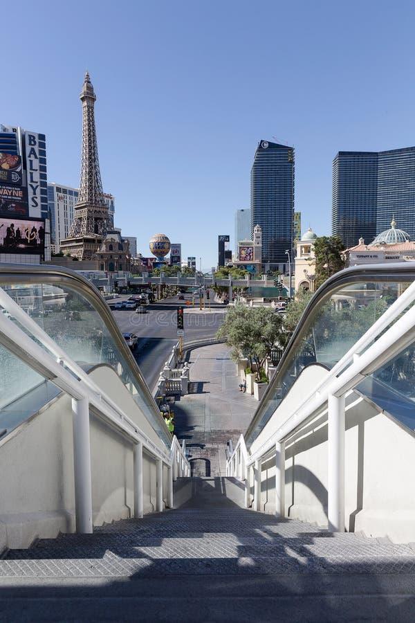 La tira de Las Vegas, Las Vegas, Nevada, los E.E.U.U. imagenes de archivo