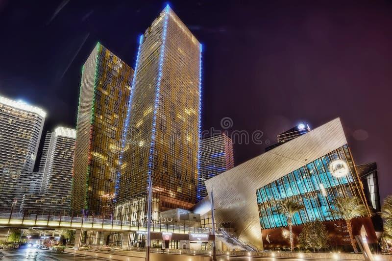 La tira Las Vegas foto de archivo libre de regalías