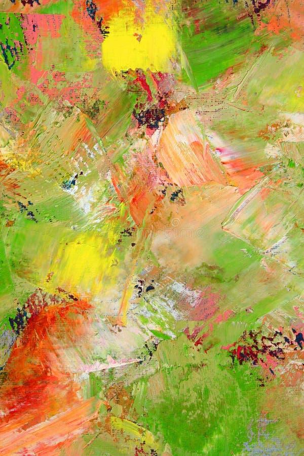 la toile a peint photos libres de droits