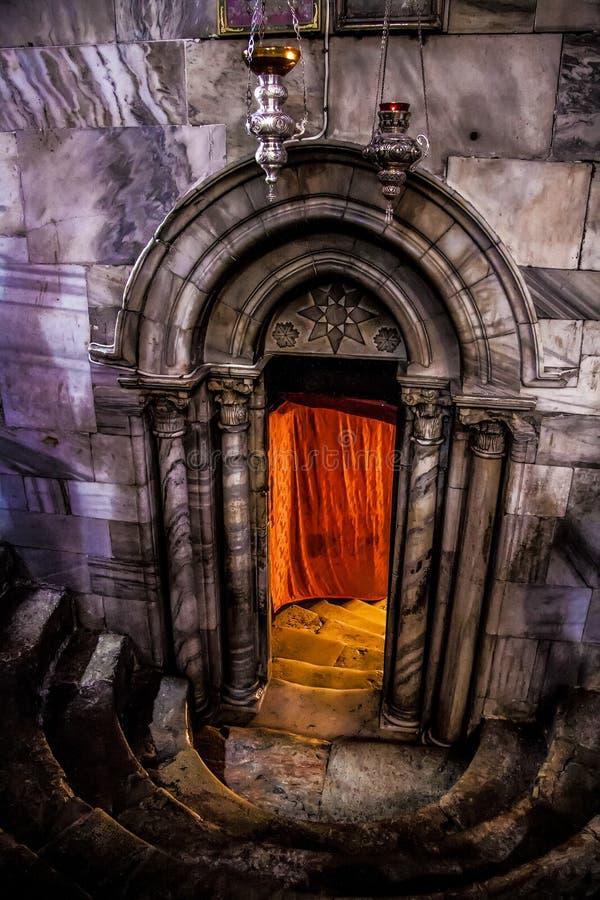 La tomba Betlemme del giardino fotografia stock libera da diritti