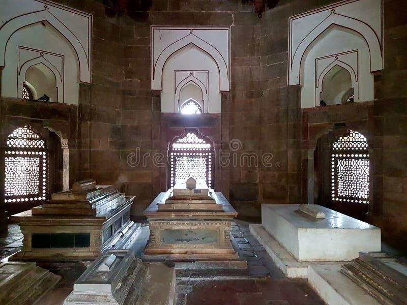 La tomba dell'AIZ khan fotografia stock