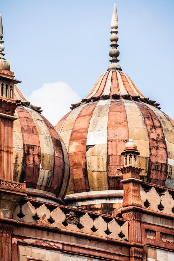 La tomba di Safdarjung è una tomba del giardino in un mausoleo di marmo a Delhi, India fotografia stock