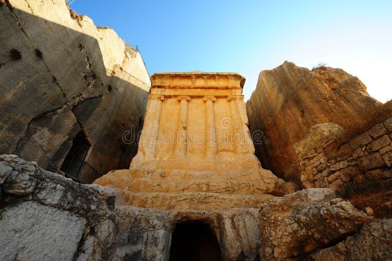 La tomba di Zechariah fotografia stock libera da diritti