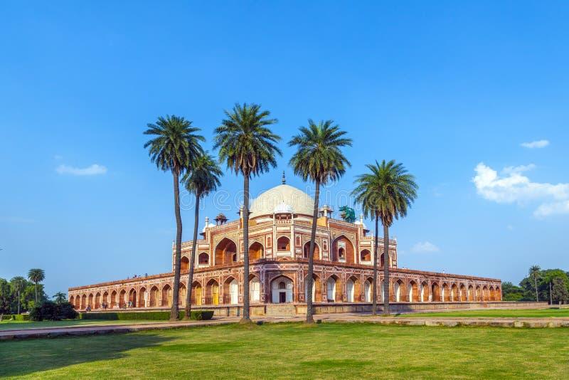 La tombe de Humayun. Delhi, Inde photo libre de droits