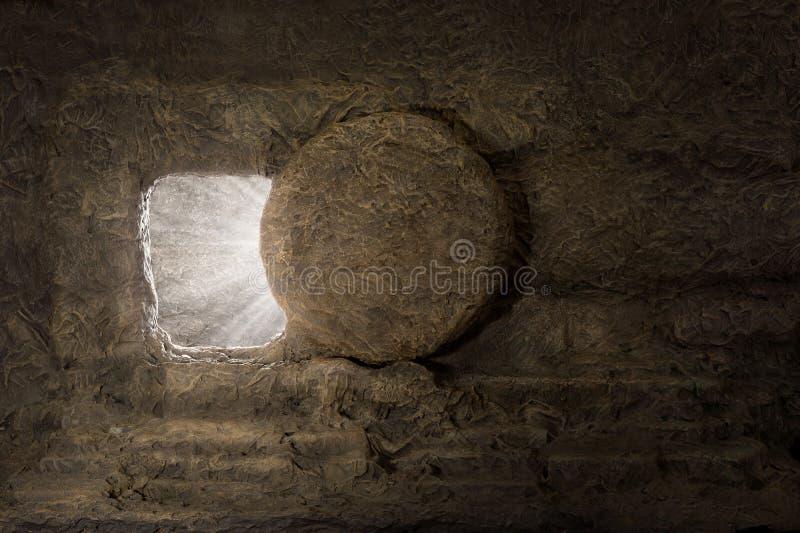 la tombe de Jésus images libres de droits