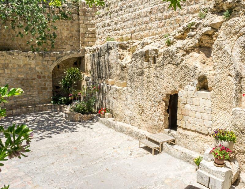 La tombe de jardin à Jérusalem, Israël images libres de droits