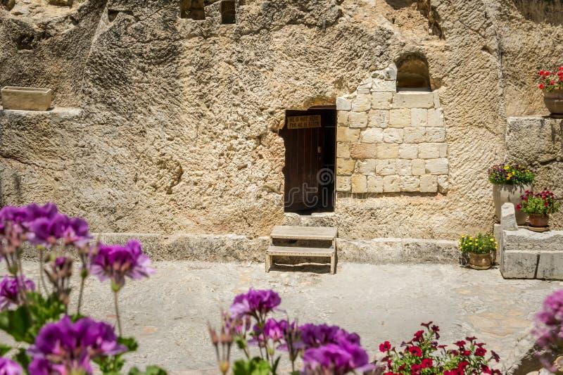 La tombe de jardin à Jérusalem, Israël image stock