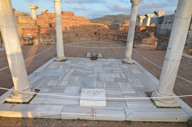 La tombe de St John photos libres de droits