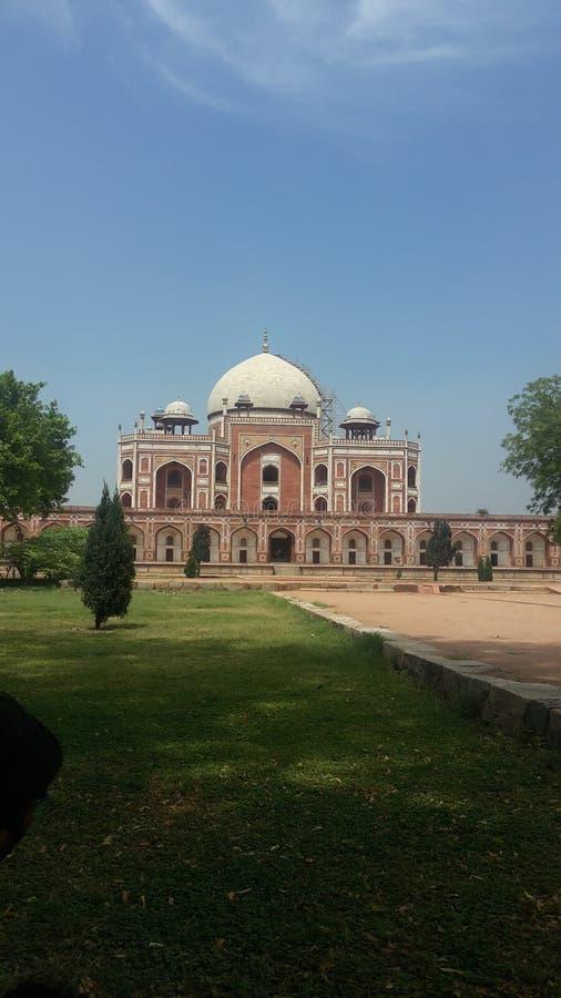 La tombe Delhi de Humayun photos libres de droits