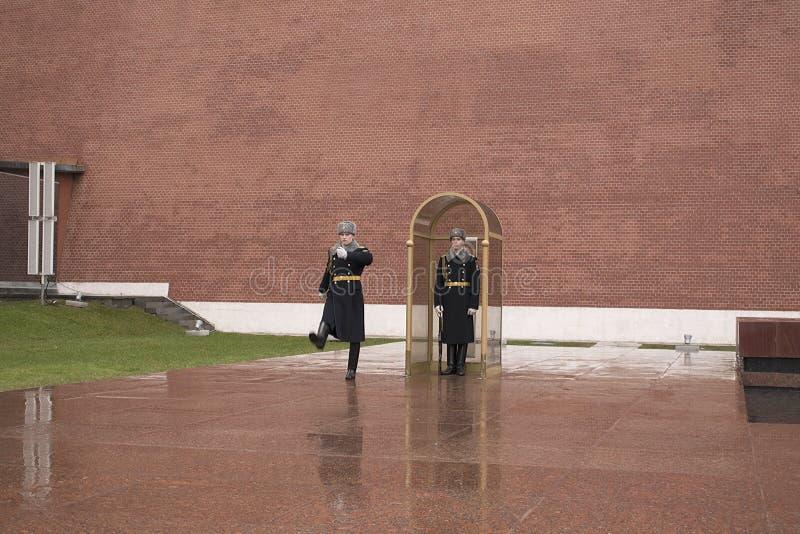 La tombe du soldat inconnu, Moscou, Russie image libre de droits