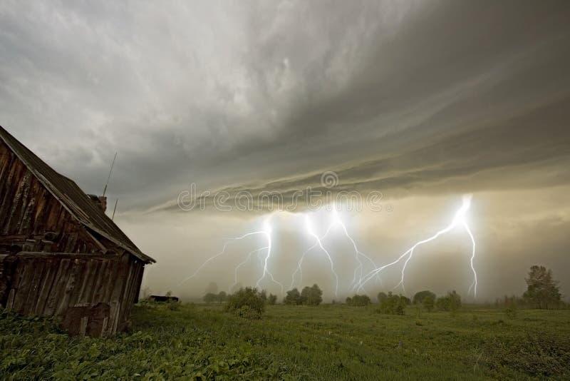 La tormenta imagen de archivo