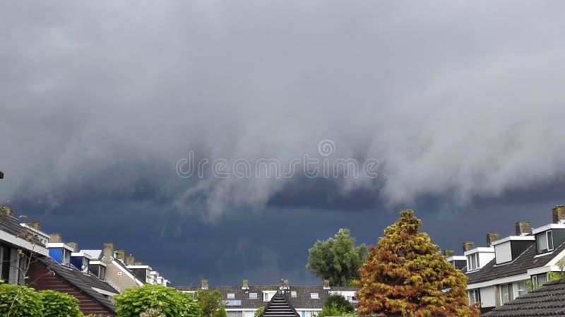 La tormenta está viniendo imágenes de archivo libres de regalías