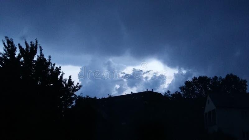La tormenta est? viniendo foto de archivo libre de regalías
