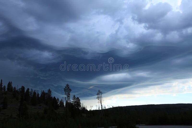 La tormenta que viene imágenes de archivo libres de regalías