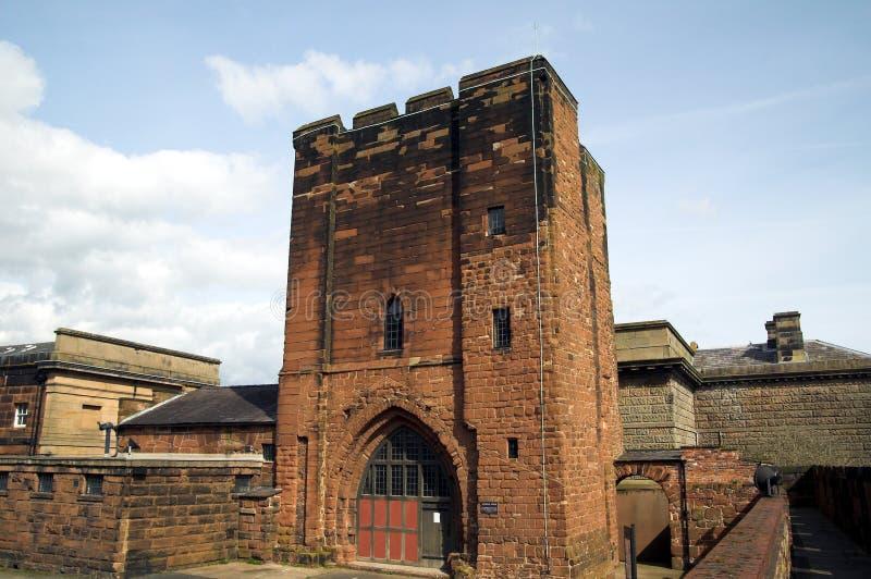 La torre de Agricula, castillo de Chester fotografía de archivo libre de regalías