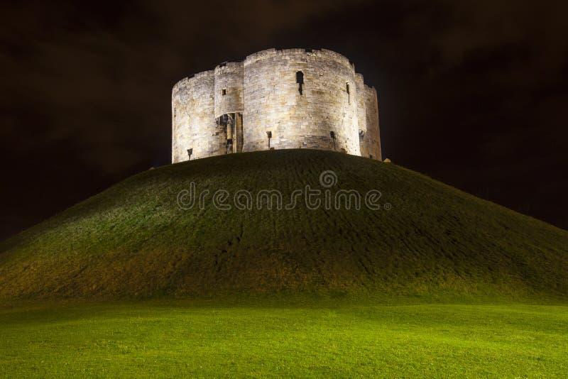 La torre de Clifford en York foto de archivo libre de regalías