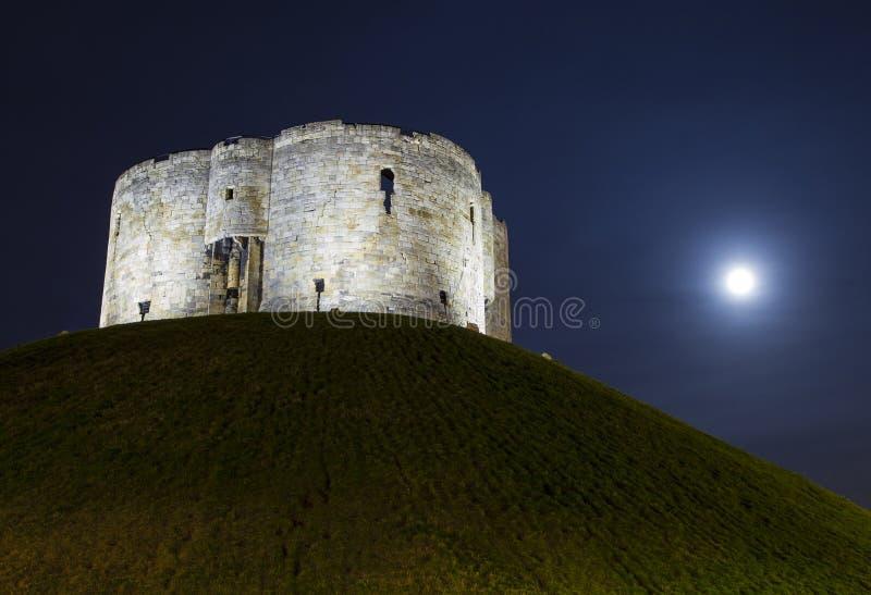 La torre de Clifford en York foto de archivo