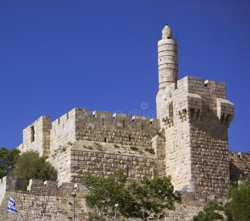 la torre de David foto de archivo