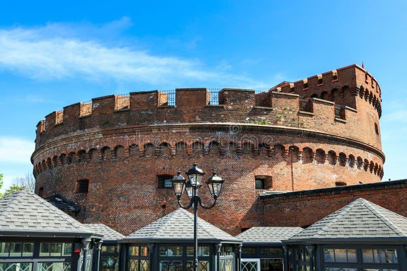 La torre de Dohna en Kaliningrado, Rusia foto de archivo libre de regalías